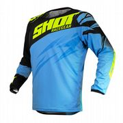 Shot Devo Ventury Youth MX Jersey Cyan